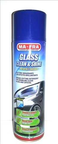 Spray Spuma Activa Geamuri 500 ml Glass Clean&Shine Ma-Fra [0]