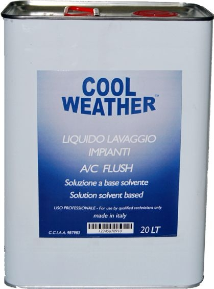 Solutie spalare sistem climatizare aparat ultrasunete 20 litri 0