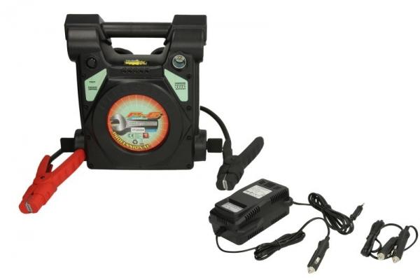 Robot de pornire incarcator acumulator Booster P6-2500 12V 2500A 850A 80cm 0