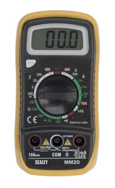 Multimetru 20 functii digital Sealey 0