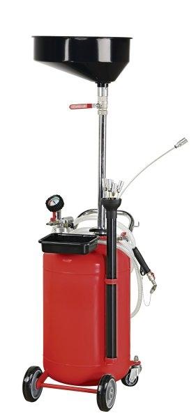 Recuperator ulei gravitationale si absorbtie cu set tuburi aspiratie 90 litri [0]