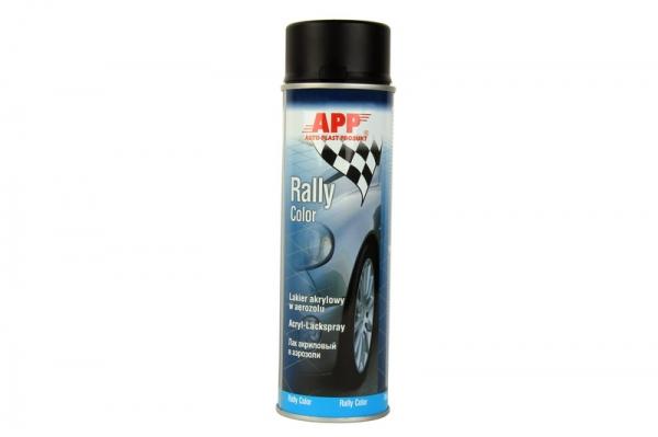Spray negru mat Rally 500ml [0]