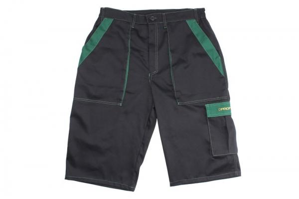 Pantaloni lucru scurti negru verde marimea XL [0]