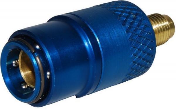 Cupla rapida albastra presiune joasa sistem climatizare auto 180 grade LP [0]