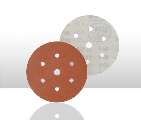 Disc abraziv 542 6 gauri Velcro f150mm P180 100 bucati [0]