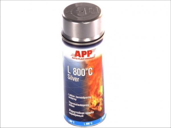 Spray gri rezistent temperaturi inalte 800 grade 400 ml [0]