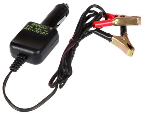 Dispozitiv mentinere tensiune in timpul inlocuirii acumulatorului 12V conectare bricheta auto 2.5 m [0]