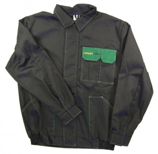 Bluza lucru negru verde marimea L 260g/m2 [0]