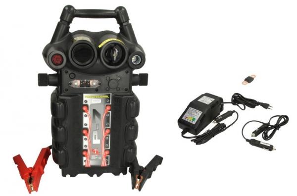 Robot de pornire Booster P7-1224V 12/24V 2500/5000A 150cm 0