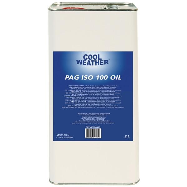 Ulei refrigerant PAG 100 OIL 5L sistem climatizare aer conditionat Magneti Marelli [0]