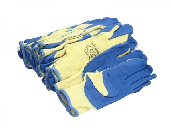 Set 12 perechi manusi tricotate aacoperite cu cauciuc rezistente uzura marimea XL [0]