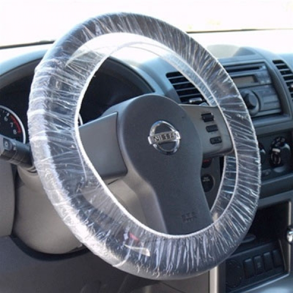 Husa protectie volan cu elastic pachet de 250 bucati [0]