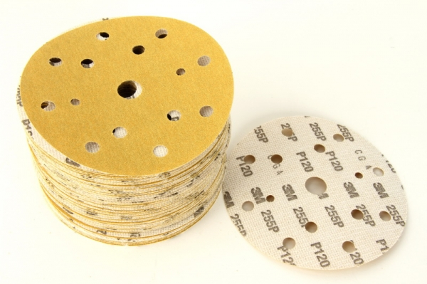 Disc abraziv Hookit P120 galben 100 bucati 0