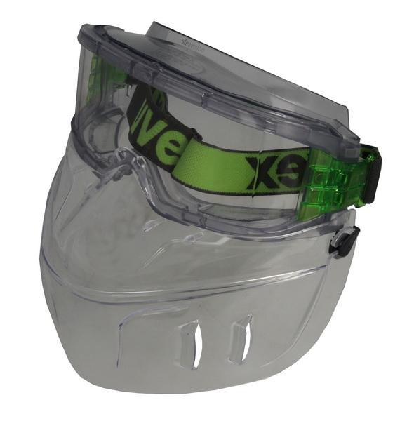 Ochelari protectie UVEX ultravision cu protectie fata lentile transparente acoperire anticondens [0]