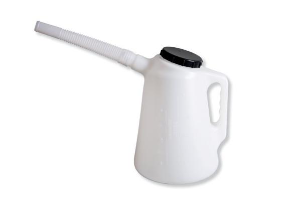 Recipient lichide cu varf flexibil si capac 2 litri [0]