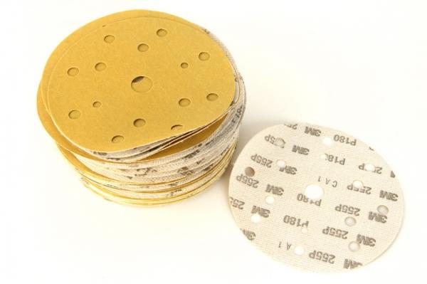 Disc abraziv Hookit P180 galben 100 bucati 0