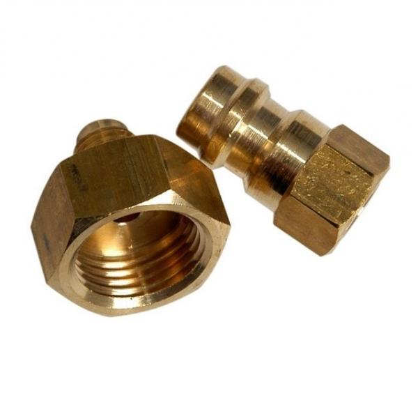 Set 2 adaptoare butelie freon R134A umplerea butelie interna aparat clima  0
