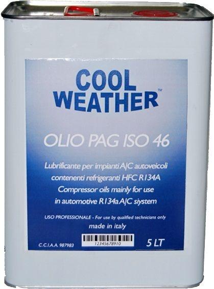 Ulei refrigerant PAG 46 OIL 5 litri sistem climatizare aer conditionat Magneti Marelli 0