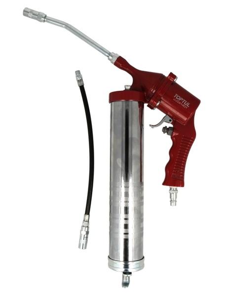 Gresor pneumatic capacitate 400 furtun flexibil 300mm presiune 4,2-10,3 bari [0]