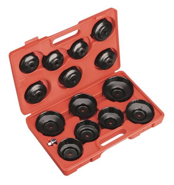 Set 14 chei filtru ulei cu adaptor [0]