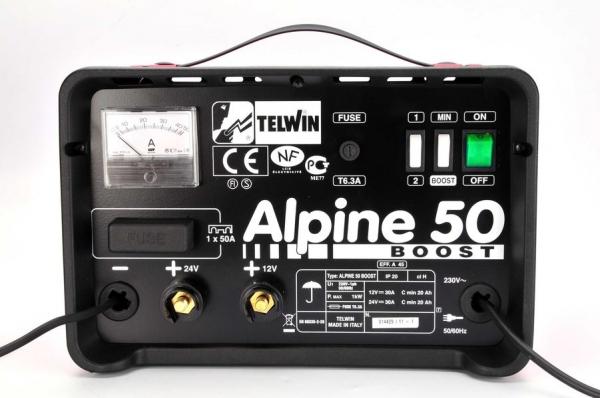 Redresor curent ALPINE 50 BOOST 230V 12/24V  0