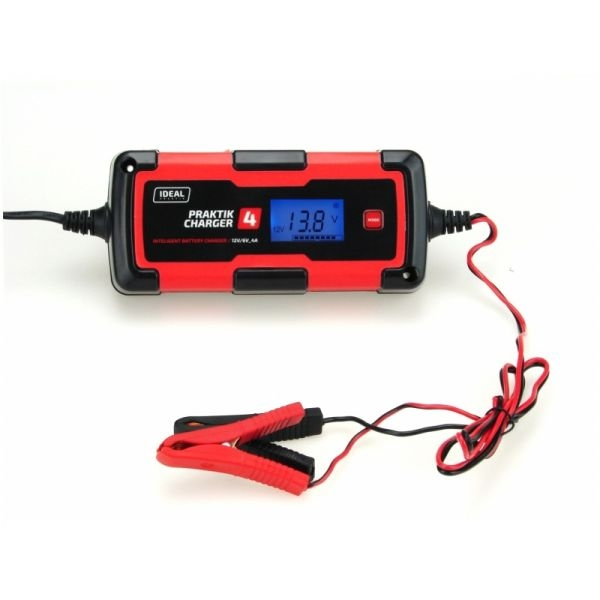 Redresor curent baterii descarcate 2/4A 6/12V bateriile cu acid, de tip AGM si cele cu gel 0