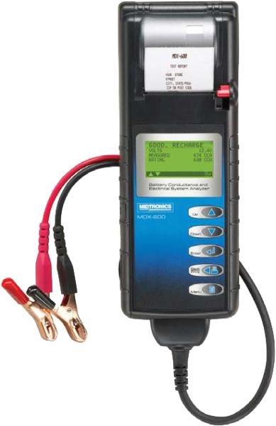 Tester baterie MIDTRONICS MDX-655P cu imprimanta 305cm 6 12V 0