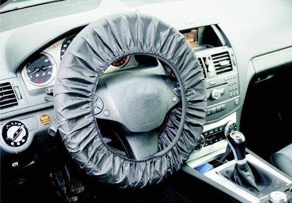 Husa protectie volan auto din piele reutilizabil 0