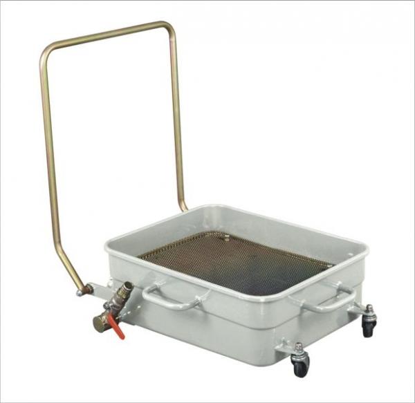 Recipient recuperator colector ulei uzat cu 4 roti 65 litri [0]