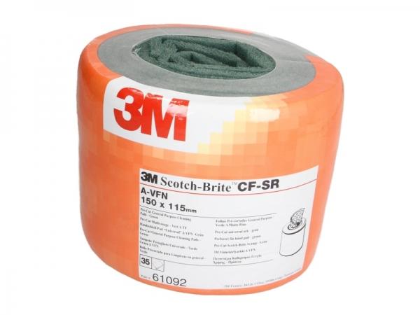 Burete abraziv Scoth Brite Pre Cut 115 x 150 mm x 35 bucati veerde [0]