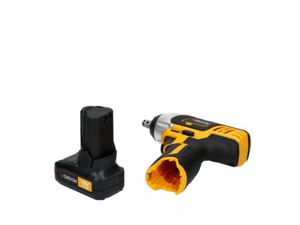 Pistol de impact 1/2 cu acumulator, 150Nm