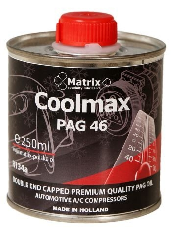 Ulei refrigerant PAO OIL 46 250 ml sistem climatizare aer conditionat MATRIX  0
