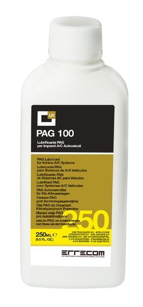 Ulei refrigerant PAG OIL UV 100 250ml cu substanta contrast UV sistem aer conditionat auto Errecom 0