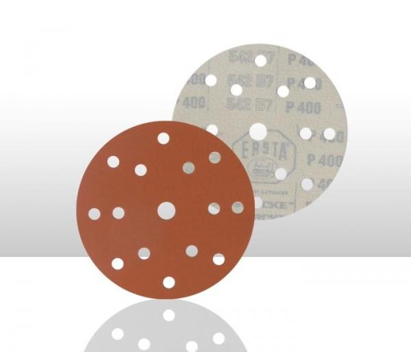 Disc abraziv ERSTA 542 15 gauri 150mm P220 100 bucati 0