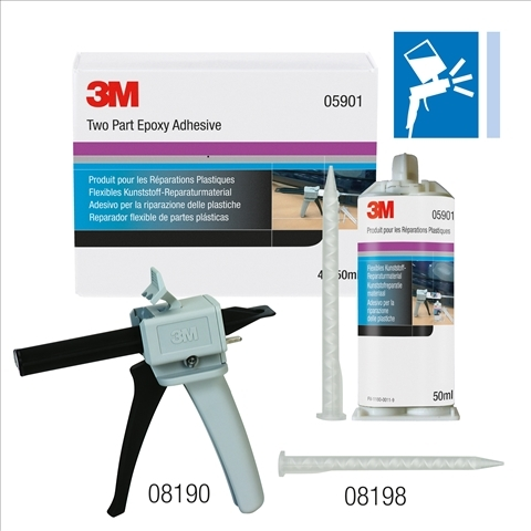 Aplicator adeziv manual reparatii plastic  3M 0