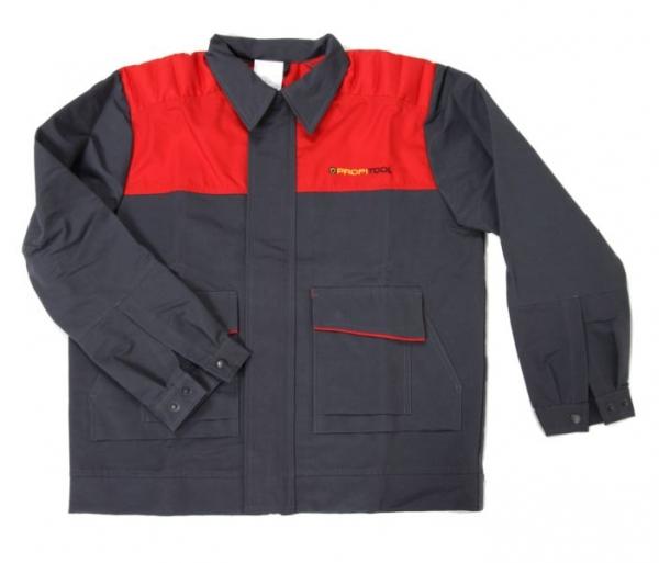 Bluza mecanic marimea L negru rosu [0]
