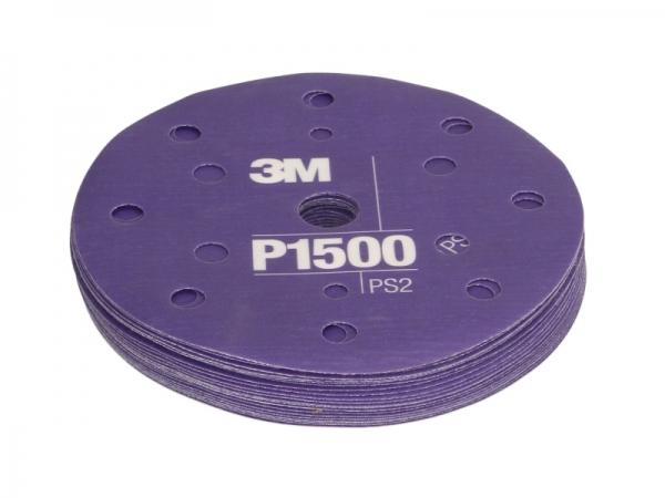 Coala Hartie abraziva plastic vopsea lac P1500 25 bucati 3M [0]