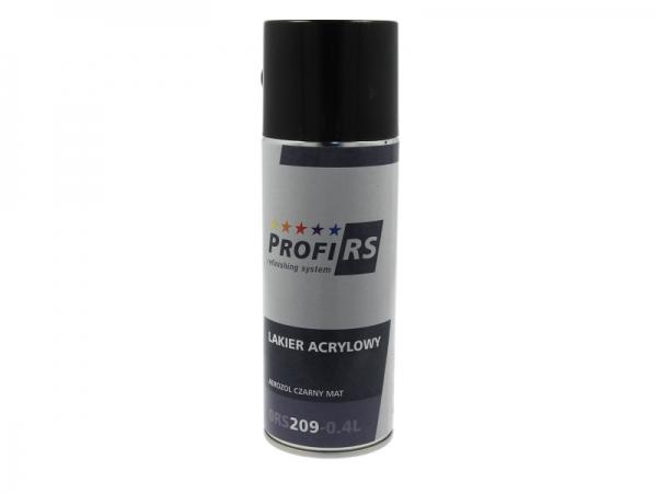 Spray Clearcoat Negru Mat 400 ml [0]