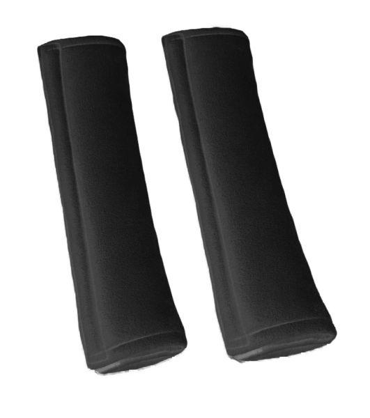 Acoperire centura siguranta  gri Grand Comfort (poliester, spuma de memorie, set 2 bucati, 25x15x3 cm) [0]
