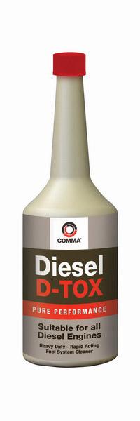 Aditiv diesel COMMA DIESEL D-TOX 400ml [0]