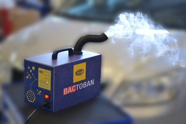 Aparat curatare sistem climatizare aer conditionat auto MAGNETI MARELLI BACTOBAN 2