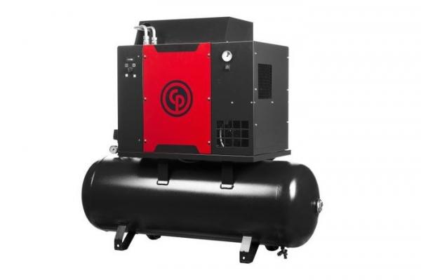 Compresor aer cu surub si uscator 500L 0