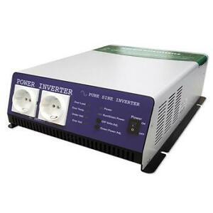 Conversor profesional DC/AC 12-24V 1200W 0