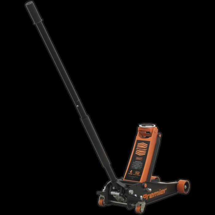 Cric hidraulic Sealey tip crocodil 4 tone, portocaliu [0]