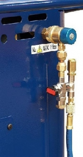Cuplaj siguranta butelii azot aparat clima Next sistem climatizare aer conditionat Magneti Marelli 0