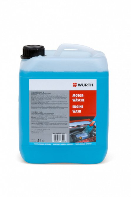 Solutie curatare motor si cutie de viteze Wurth, 5L 0