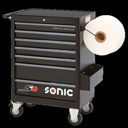 Dulap scule SONIC S8 echipat cu 156 piese, 7 sertare [2]