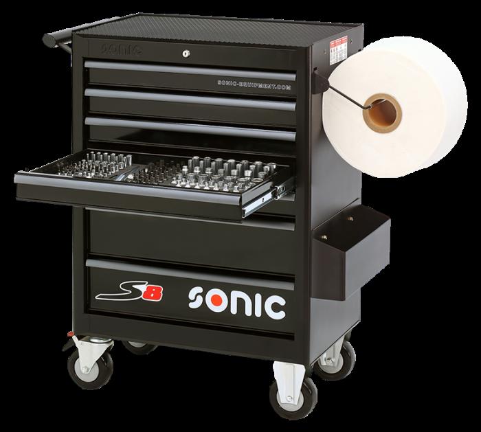 Dulap scule SONIC S8 echipat cu 156 piese, 7 sertare [0]