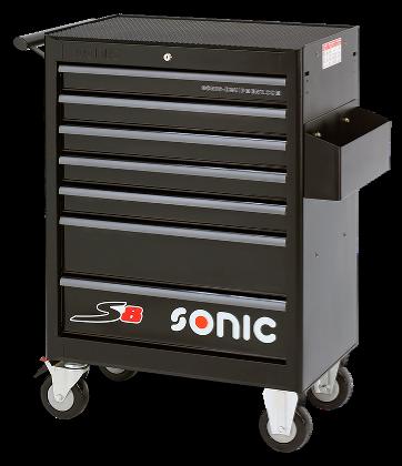 Dulap scule SONIC S8 echipat cu 156 piese, 7 sertare [1]