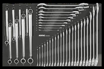 Dulap scule SONIC S8 echipat cu 241 piese, 8 sertare [3]